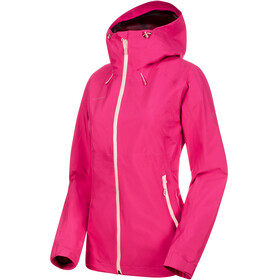 Mammut W's Convey Tour HS Hooded Jacket pink-candy